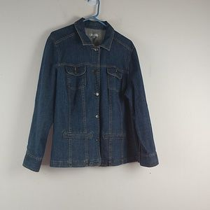 Croft & Barrow Denim Jacket, Sz XL
